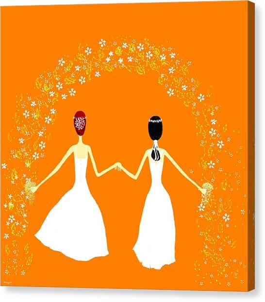 Brides Canvas Print