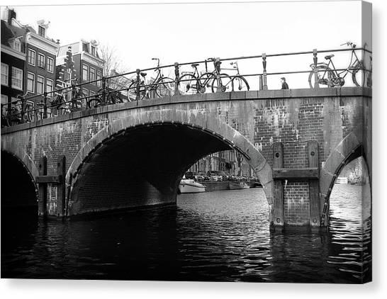 Canvas Print featuring the photograph Bridge 4 by Scott Hovind