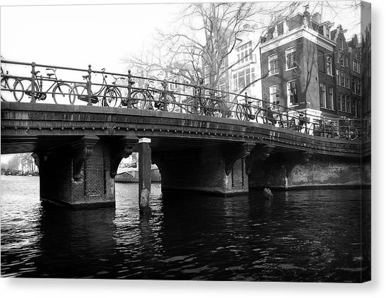 Canvas Print featuring the photograph Bridge 5 by Scott Hovind