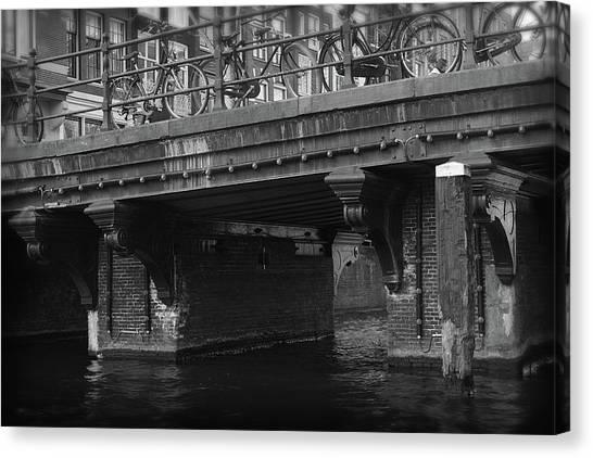 Canvas Print featuring the photograph Bridge 6 by Scott Hovind