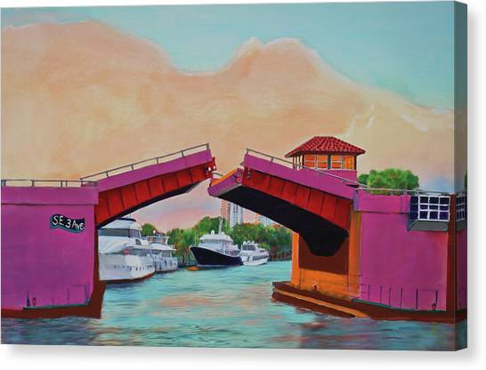 Bridge At Se 3rd Canvas Print