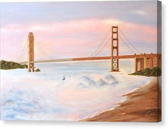 Bridge Canvas Print by CH Narrationism