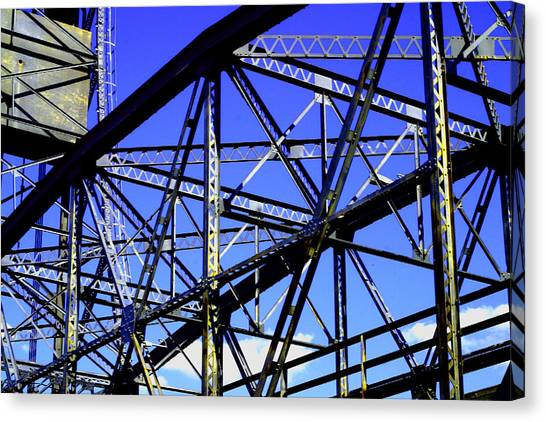 Bridge  Frame -  Ver. 1 Canvas Print