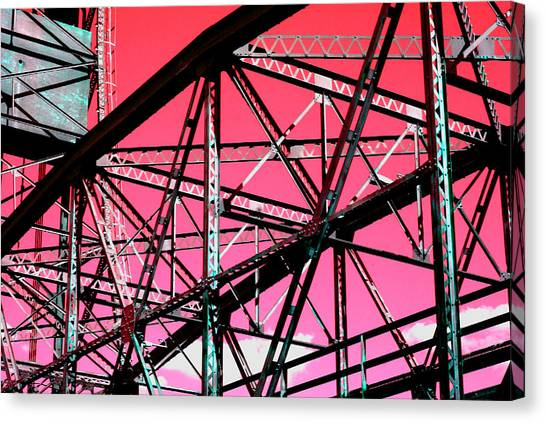 Bridge  Frame -  Ver. 10 Canvas Print