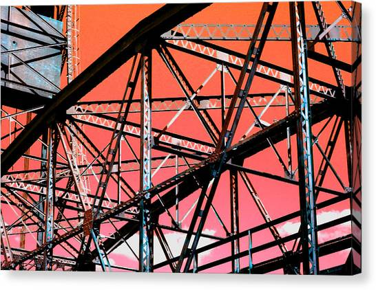 Bridge  Frame -  Ver. 11 Canvas Print