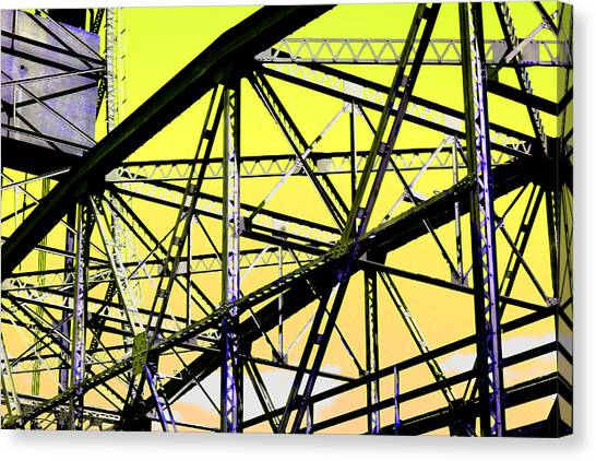 Bridge  Frame -  Ver. 2 Canvas Print