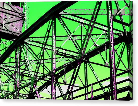 Bridge  Frame -  Ver. 3 Canvas Print