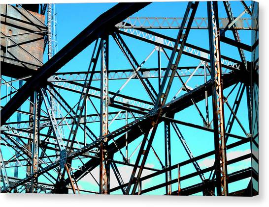 Bridge  Frame -  Ver.  5 Canvas Print