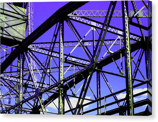 Bridge  Frame -  Ver. 6 Canvas Print