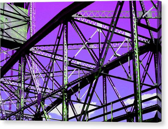 Bridge  Frame -  Ver. 7 Canvas Print