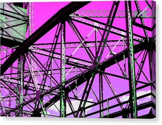 Bridge  Frame -  Ver. 8 Canvas Print