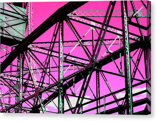 Bridge  Frame -  Ver. 9 Canvas Print