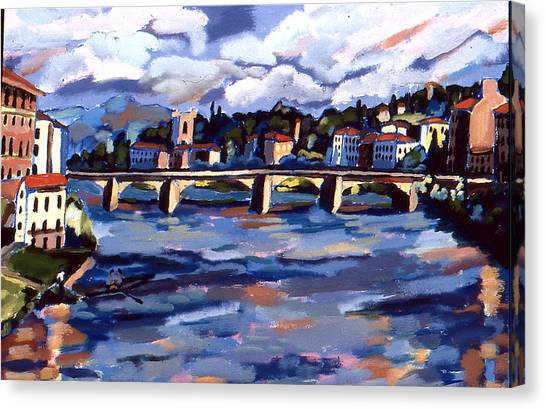 Bridge In Florence Canvas Print