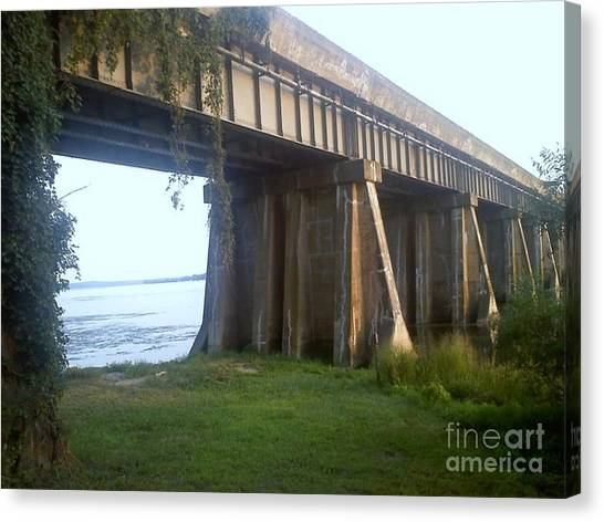 Bridge In Leesylvania Park Va Canvas Print