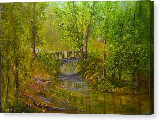 Bridge Of Delight Canvas Print