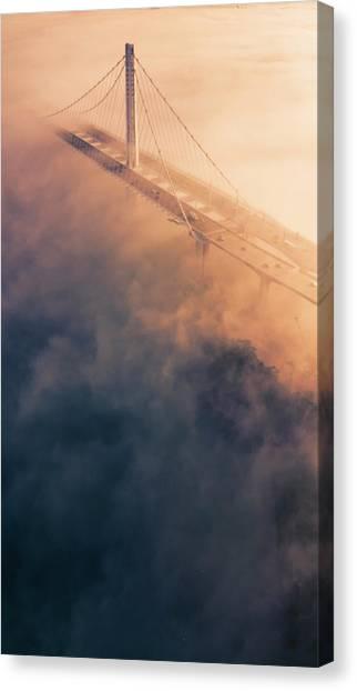 Bridge Of Dreams Canvas Print by Vincent James