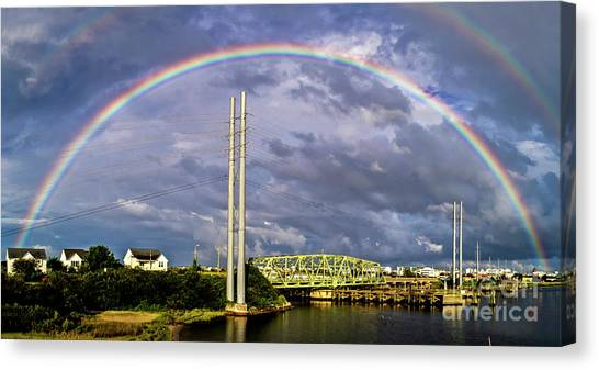 Bridge Of Hope Canvas Print