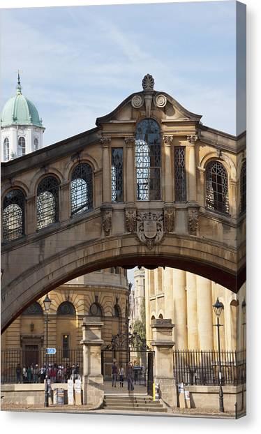 Bridge Of Sighs Oxford Canvas Print