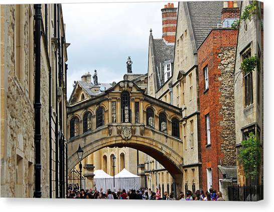 Bridge Of Sighs Canvas Print