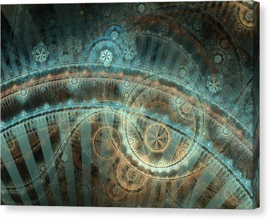 Apophysis Canvas Print - Bridge Of Time by David April