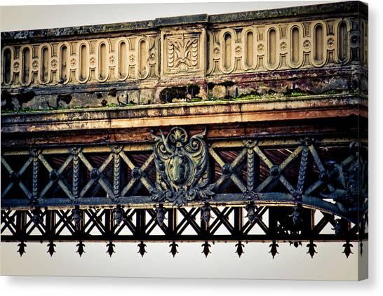 Bridge Ornaments In Germany Canvas Print