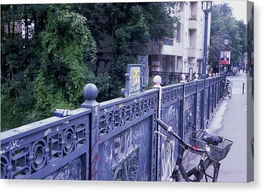 Bridge Railing Canvas Print