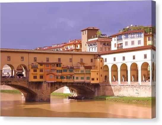 Canvas Print - Ponte Vecchio, Florence by Slawek Aniol