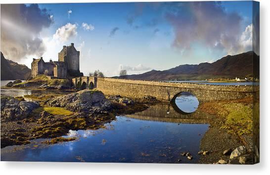 Bridge To Eilean Donan Canvas Print