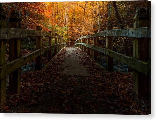 Bridge To Enlightenment Canvas Print