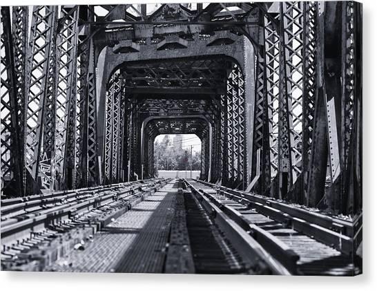 Bridge To No Where 2 Canvas Print