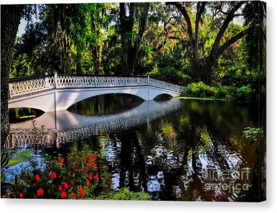 Bridge To Spring Canvas Print