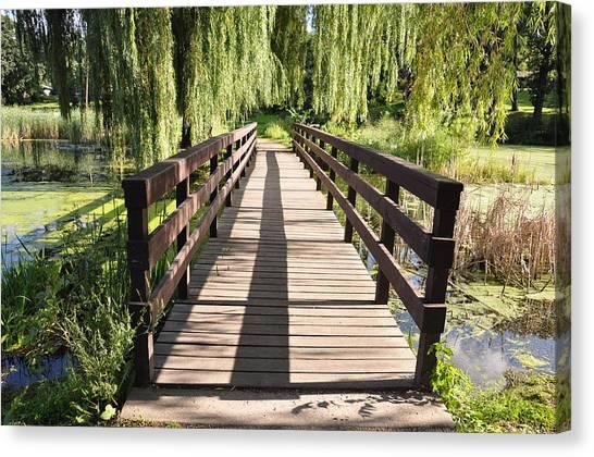 Bridge To Tranquillity Canvas Print