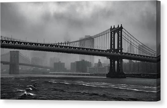 Bridges In The Storm Canvas Print