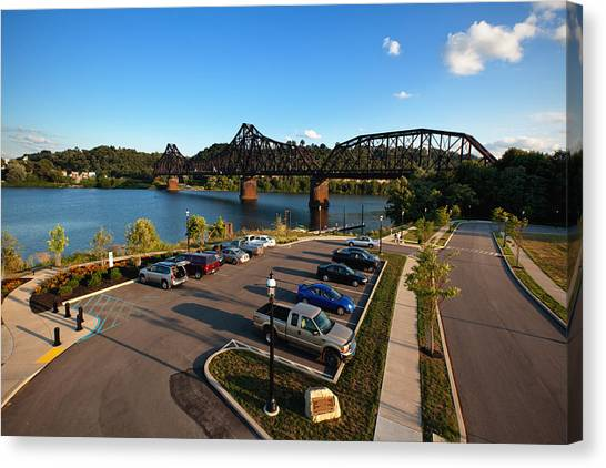 Ohio Valley Canvas Print - Bridgewater Crossing  by Emmanuel Panagiotakis