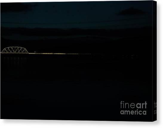Bridging The Columbia River Canvas Print