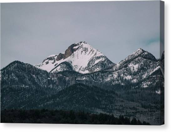 Canvas Print featuring the photograph Brief Luminance by Jason Coward