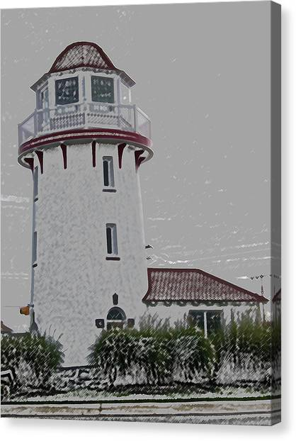 Brigantine Lighthouse Canvas Print