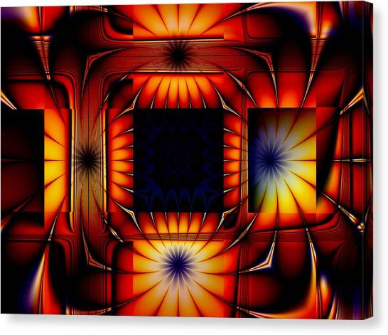 Bright As Can Be Canvas Print