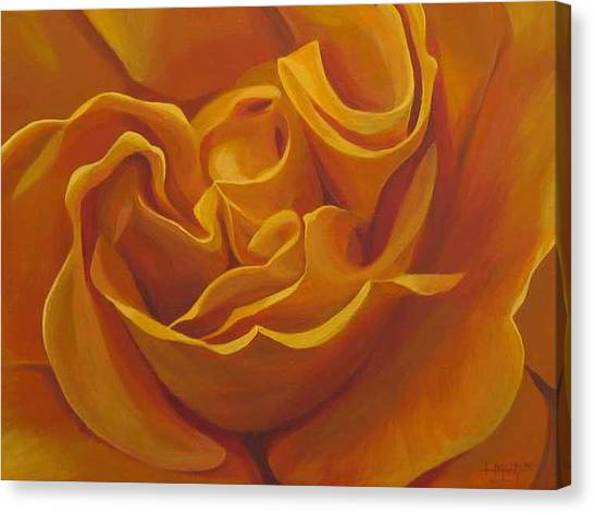 Bright As Yellow Canvas Print
