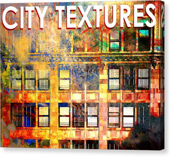Bright City Textures Canvas Print