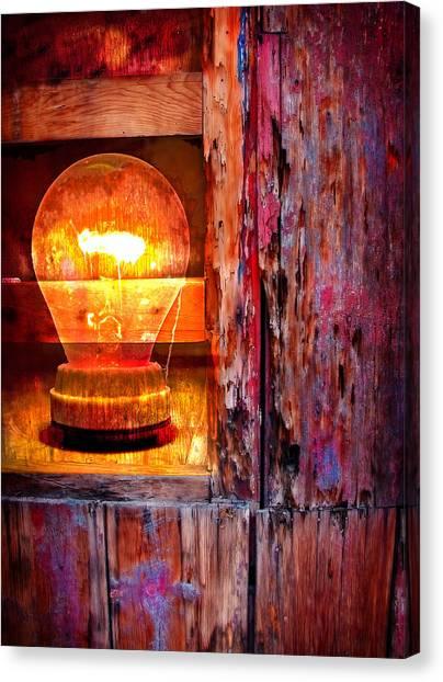 Hunt Canvas Print - Bright Idea by Skip Hunt