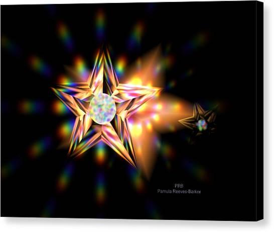 Canvas Print - Bright Star by Pamula Reeves-Barker