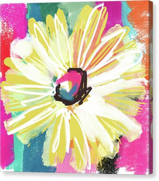 Yellow Daisy Canvas Prints   Fine Art America