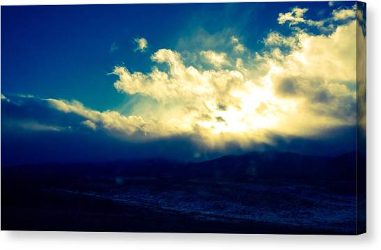 Brightest Clouds Canvas Print