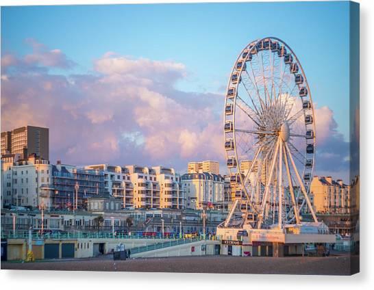 Brighton Ferris Wheel Canvas Print