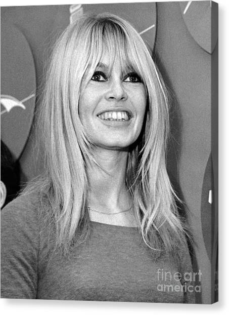 Brigitte Bardot Is All Smiles 1965 Photograph By William