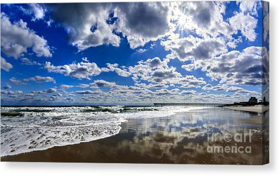 Brilliant Clouds Canvas Print