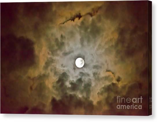 Brilliant Night Sky Canvas Print