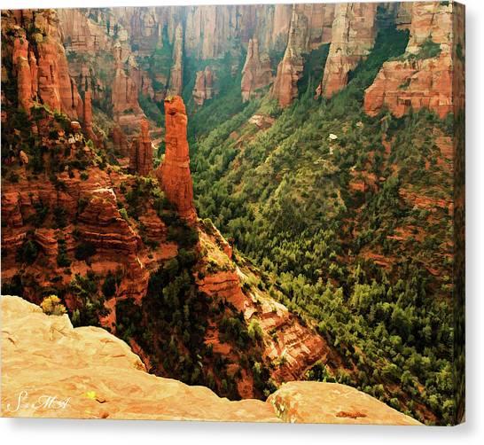 Brins Mesa 07-143 Canvas Print