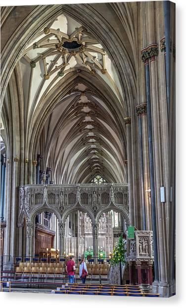 Bristol Canvas Print - Bristol Cathedral by W Chris Fooshee